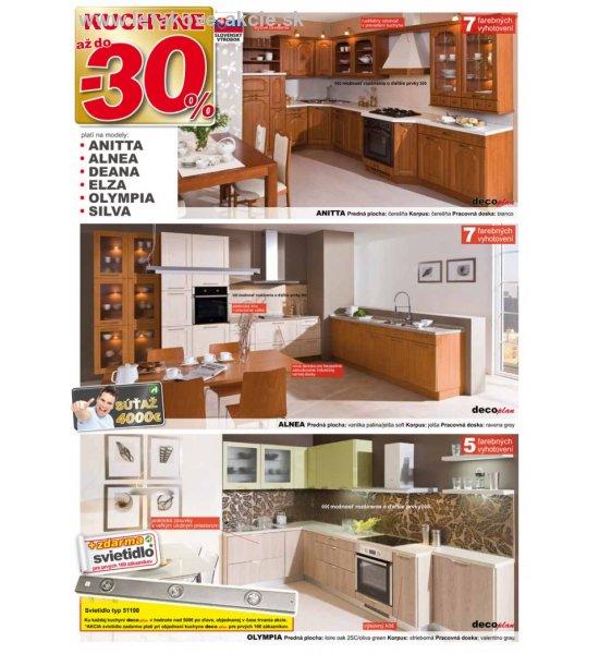 abcbd2d98b16 Decodom - Zľava na kuchyne a obývačky