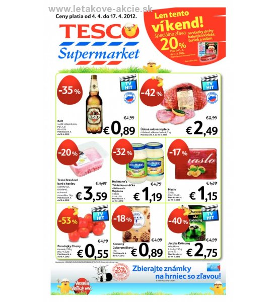 Tesco Supermarket strana 1
