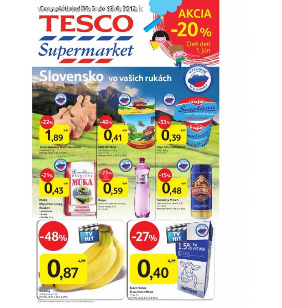Supermarket Tesco  strana 1