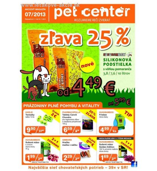 Pet Center zľava strana 1