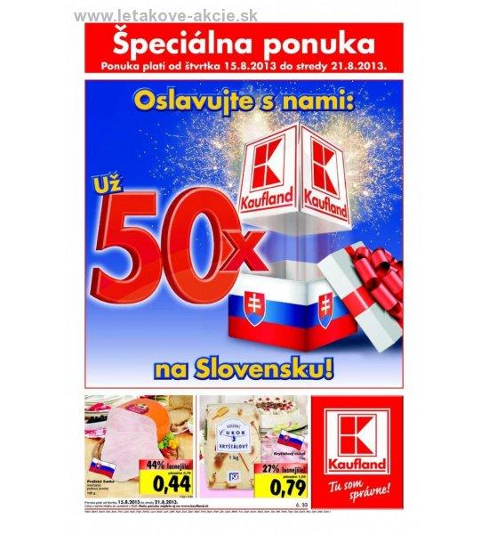 1e689204d leták Kaufland pre Košice